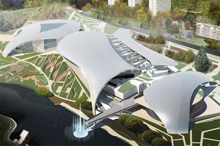 Проект экопарка в центре Зеленограда выдвинули на национальную архитектурную премию