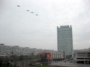 7 и 9 мая над Зеленоградом пролетят боевые самолеты