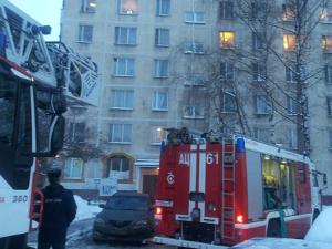 На пожаре в 3-м микрорайоне пострадал мужчина