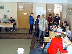 На избирательном участке умер член УИК
