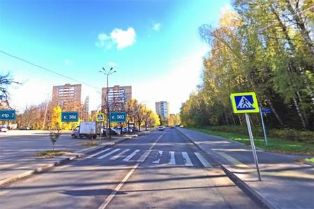 Автомобиль сбил пенсионерку на переходе у «Ведогонь-театра»