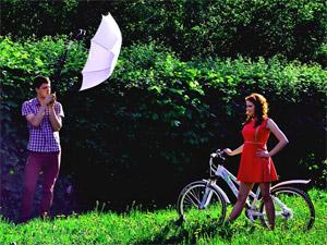 Топ-модель по-зеленоградски: мотоциклы, теннисные ракетки, цветы