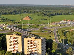 На 37-м км Ленинградки начинается строительство второй развязки