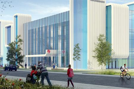 У пересадки с НАТИ на МКЖД построят торговый центр и хоккейную площадку