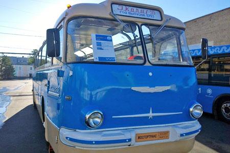 Ретроавтобус проедет по Центральному проспекту в День города