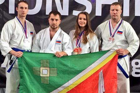 Зеленоградка выиграла чемпионат мира по каратэ в Польше