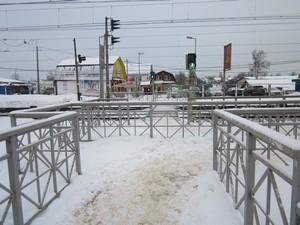 РЖД оштрафовали за плохую очистку от снега платформ тверского направления