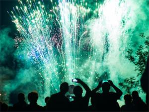 11 августа в парке Победы покажут огненно-музыкальное шоу