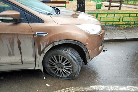 Нетрезвого автомобилиста задержали после полицейской погони в 14-м микрорайоне
