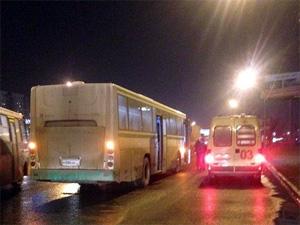 Водитель автобуса №400 умер за рулем на Ленинградке
