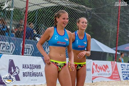 Зеленоградки стали вице-чемпионками России по пляжному волейболу среди студентов