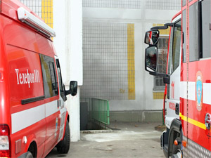 Пожар в подвале гимназии начался после визита коммунальщика
