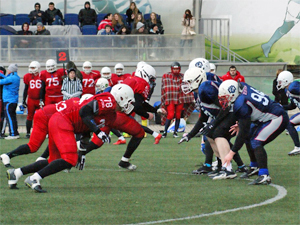 В Зеленограде пройдет матч чемпионата России по американскому футболу