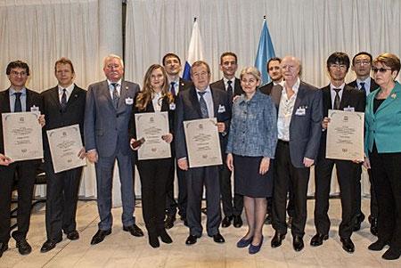 Главу «Микрона» наградили медалью ЮНЕСКО