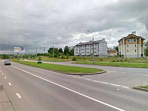 На Кутузовском шоссе пострадал мотоциклист