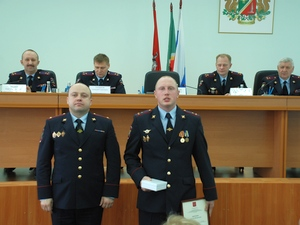 Зеленоградских полицейских наградили за обеспечение порядка на Олимпиаде в Сочи