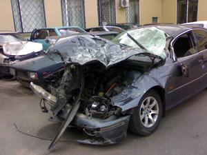 Пьяный водитель врезался в тягач