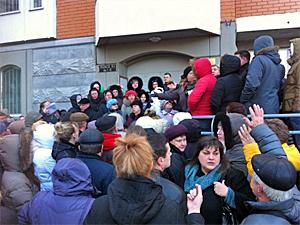 Жители Брехово устроили народный сход из-за роста тарифов