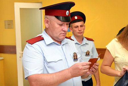 Полицейскую охрану Зелрайсуда заменили казаками