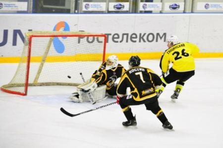 ХК «Зеленоград» дважды обыграл на выезде можайских «Драгунов»