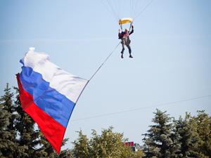 Зеленоградцам покажут рекордный прыжок с триколором