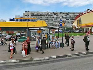 В «новом» городе появилась остановка «Дворец единоборств»