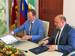Зеленоград и Троицк договорились о научном сотрудничестве
