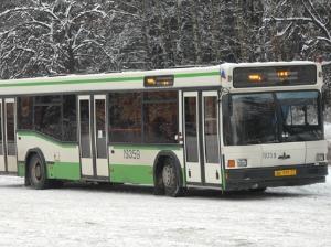 Автобусы №400 в Новый год работают до 3:00