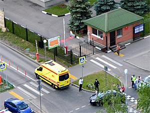 За два часа в Зеленограде пострадали два велосипедиста и мотоциклист