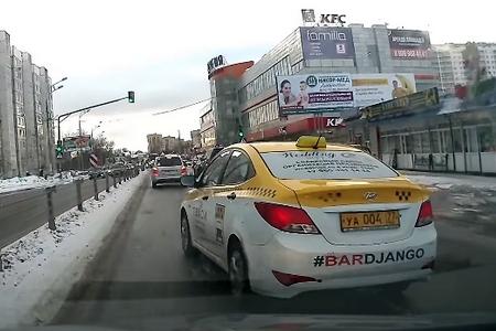 Букет нарушений от таксиста