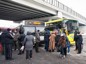 Автобусы на митинг оплачивал профсоюз