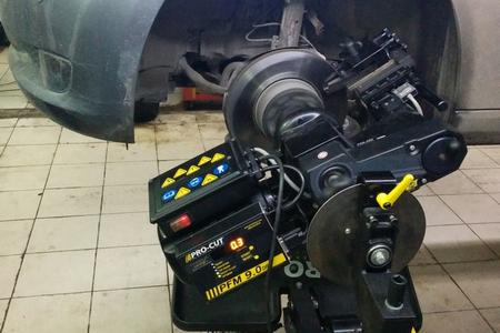 Автотехцентр «Малино-1» предлагает новый сервис по проточке и восстановлению геометрии тормозных дисков