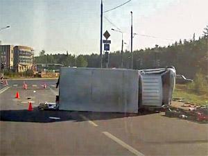 На Алабушевской улице столкнулись два нетрезвых водителя