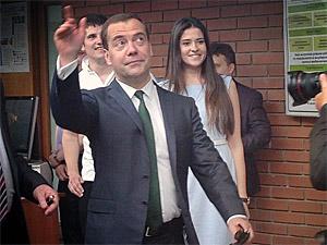 Дмитрий Медведев в МИЭТе