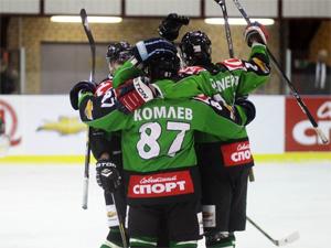 ХК «Зеленоград» продолжает выигрывать