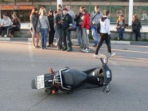 Пьяный скутерист сбил ребенка у ДК