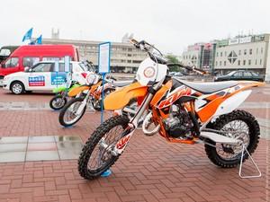 В субботу на Центральной площади пройдет мотор-шоу