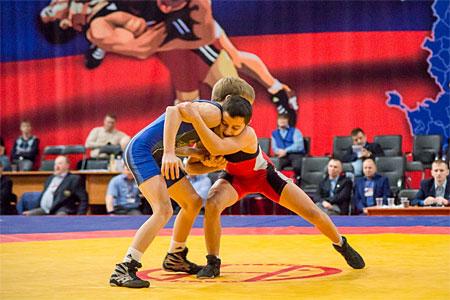 15-летний зеленоградец выиграл первенство России по греко-римской борьбе