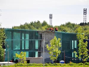 Аквапарк планируют достроить к середине 2013 года