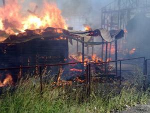 Пожар в Брехово