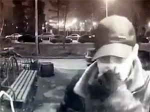 Предполагаемого угонщика в 7-м микрорайоне сняла камера наблюдения
