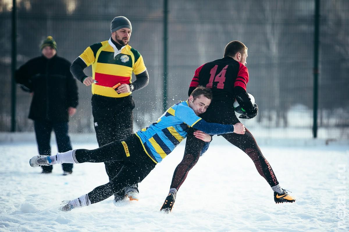 Снежное регби — 2016