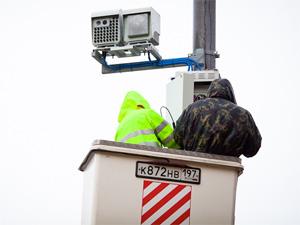 Вторую камеру ГИБДД установили у «Октябрьской»