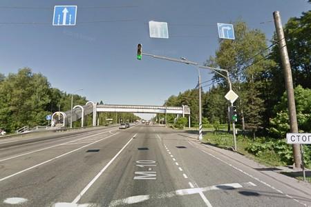 С запуском развязки у «Штыков» ликвидируют светофор на Ленинградке у поворота в Ржавки