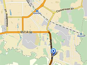 На Кутузовском шоссе перевернулась иномарка
