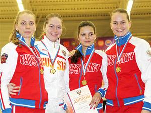 Татьяна Сухова впервые выиграла «взрослый» чемпионат России по фехтованию