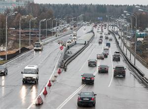 Запущено движение по новому мосту через реку Сходню