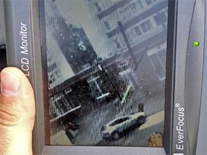 Рабочие сбили настройки светофоров у Крюковской эстакады