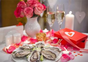 Приглашаем на романтический ужин в День Святого Валентина!