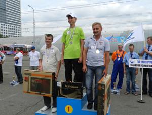 Маршруточник из Зеленограда стал одним из лучших в Москве